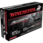 Winchester Supreme Elite .270 Win 140 Gr. Nosler Accubond, 20 Rounds
