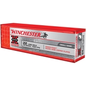 Winchester Super-X Power Point .22 LR 40 Gr. Plated Power Point, 100 Rounds