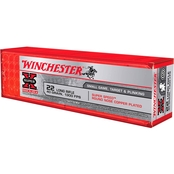Winchester Super-X Super Speed .22 LR 40 Gr. Plated Round Nose, 100 Rounds