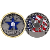 Challenge Coin Retired Air Force Coin