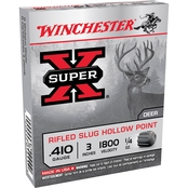 Winchester Super-X .25 Oz. Slug 410 Ga. 3 In., 5 Rounds
