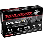 Winchester Supreme Elite 12 Ga. 2.75 in. 00 Buckshot 9 Pellets, 5 Rounds