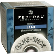 Federal GameShok 410 Ga. 3 in. 7.5 Shot, 25 Rounds