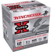 Winchester Xpert HI-Velocity 12 Ga. 3.5 in. #BB 1.25 oz. Steel Shot Lead Free, 25