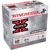 Winchester Xpert 12 Ga. 2.75 in. #6 1 oz. Steel Shot Lead Free, 25 Rounds