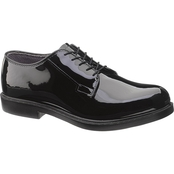 Bates Men's Durashock Uniform Shiny Poromeric Oxford Shoes