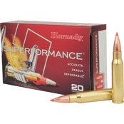Hornady Superformance .308 Win 165 Gr. GMX Lead Free, 20 Rounds