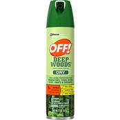 OFF Deep Woods Dry Aerosol Spray 4 Oz.