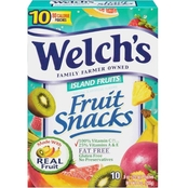 Welch's Fruit Snacks Island Fruits 10 ct.