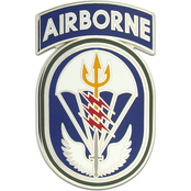 Army CSIB Special Operations Command South, with Airborne Tab