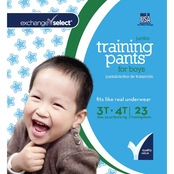 Exchange Select Boys Jumbo Premium Training Pants 3T-4T, 23 Count
