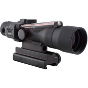Trijicon ACOG 3x30 Dual Illuminated .308 Flattop Ballistic Reticle Scope with TA60