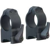 Warne Scope Mounts Maxima Quick Detach 1 in. Medium Rings 2 pk.