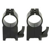 Warne Scope Mounts 204LM 1 In. Quick Detach Ultra High Matte Rings