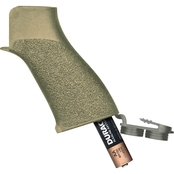TangoDown Battlegrip Flip Grip for AR Rifles, Desert Tan Finish