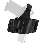Bianchi Black Widow Belt Holster for 1911, 3-5 In. Barrel, Right Hand Draw