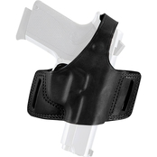Bianchi Black Widow Belt Holster for Glock, Right Hand Draw