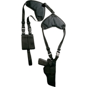 Bulldog Cases Large Revolver Deluxe Pro Shoulder Holster