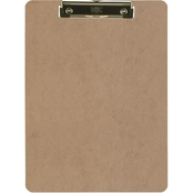 Officemate Low Profile Wooden Clipboard