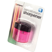 Officemate Sharpener, Twin with Receptacle