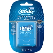 Oral B Glide Pro-Health Advanced Fresh Mint Flavor Floss 35M, Twin