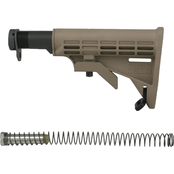 Tapco AR-15 6 Position Stock with Buffer/Spring