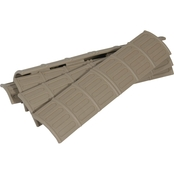 Tapco Intrafuse Picatinny Rail Panel Covers 5 Pk.