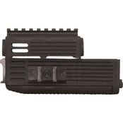 Tapco Intrafuse Quad Rail Handguard for AK, Black