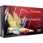 Hornady Superformance 6.5 Creedmoor 120 Gr. GMX Lead Free, 20 Rounds