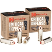 Hornady Critical Defense .45 LC 185 Gr. Flex Tip Hollow Point, 20 Rounds