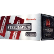 Hornady Steel Match 9mm 125 Gr. HAP, 50 Rounds