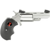 NAA Black Widow 22 WMR 2 in. Barrel 5 Rnd Revolver Stainless Steel AS