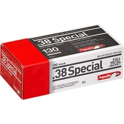 Aguila .38 Special 130 Gr. FMJ, 50 Rounds