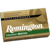 Remington Match 6.8 SPC 115 Gr. BTHP, 20 Rounds