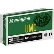 Remington UMC 6.8 SPC 115 Gr. FMJ, 20 Rounds