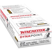 Winchester USA .22 WMR 45 Gr. Dynapoint, 50 Rounds