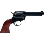 Heritage Rough Rider 22 WMR 22 LR 4.75 in. Barrel 6 Rnd Revolver Black