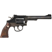 S&W 17 22 LR 6 in. Barrel 6 Rds Revolver Blued
