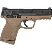 S&W M&P Compact 45 ACP 4 in. Barrel 8 Rnd 2 Mag Pistol Flat Dark Earth