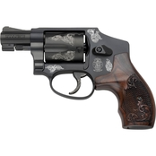 S&W 442 38 Special 1.875 in. Barrel 5 Rnd Revolver Blued with Display Case