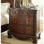 Ashley North Shore 3 Drawer Nightstand