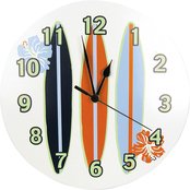 Trend Lab Wall Clock Surf's Up