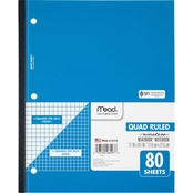 Mead Wireless Neatbook Graph Ruled Notebook 80 Sheets