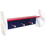 Trend Lab Shelf with Pegs Baseball