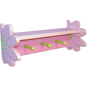 Trend Lab Darling Daisy Shelf with Pegs