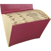 Mead All Purpose 12 Pocket Letter File, Assorted Colors