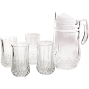 Gibson Home Jewelite 5 pc. Pitcher and Tumbler Set
