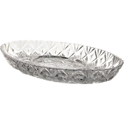 Gibson Home Jewelite 12.25 in.. 5-Section Platter