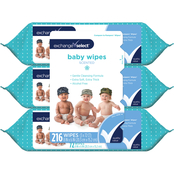 Exchange Select Unscented Solo Dispensing Baby Wipes