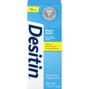 Desitin Rapid Relief Zinc Oxide Diaper Rash Cream Paraban-free Fragrance-free